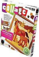 """Създай сам колаж без ножица и лепило - Кончета - Творчески комплект от серията """"Collage"""" -"""