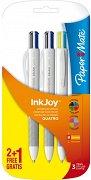"""Многоцветни химикалки - Quatro - Комплект от 3 броя от серията """"InkJoy"""""""