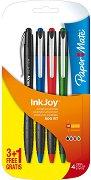 """Автоматични цветни химикалки - 500 RT - Комплект от 4 броя от серията """"InkJoy"""""""