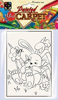 Оцвети сам декоративно килимче - Зайче - аксесоар