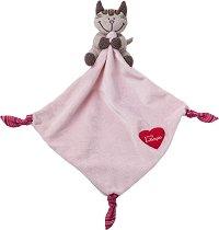 Кърпа за игра - Коте Анжелика - Играчка за гушкане -