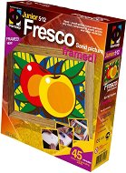 """Създай сам картина с цветен пясък - Ябълки - Творчески комплект от серията """"Fresco Frame"""" -"""