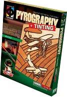 """Създай дървена гравюра - Въздушно състезание - Творчески комплект за пирографиране от серията """"Pyrography"""" - творчески комплект"""