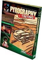 """Създай дървена гравюра - Дълго пътешествие - Творчески комплект за пирографиране от серията """"Pyrography"""" -"""