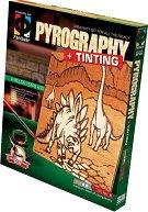 """Създай дървена гравюра - Преди милион години - Творчески комплект за пирографиране от серията """"Pyrography"""" - творчески комплект"""