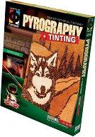 """Създай дървена гравюра - Белия зъб - Творчески комплект за пирографиране от серията """"Pyrography"""" -"""