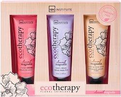 IDC Institute Eco Therapy Sweet Magnolia - Подаръчен комплект с козметика за ръце и крака -