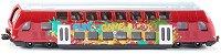 """Двуетажна мотриса - Метална играчка от серията """"Super: Bus & Rail"""" -"""