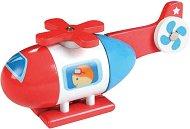 Хеликоптер - Детска играчка от дърво с магнити -