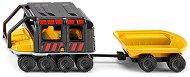 Машина с ремарке - Метална играчка -