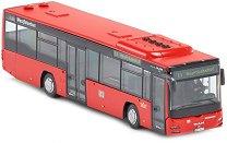 """Автобус - Man Lion's City - Метална играчка от серията """"Super: Bus & Rail"""" - количка"""