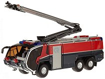 """Пожарникарски камион - Loscharm - Метална играчка от серията """"Super: Emergency rescue"""" -"""