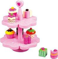Поднос с кексчета - Комплект за игра -
