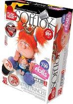 """Направи сама парцалена кукла - Малка принцеса - Творчески комплект от серията """"Soft Toy  Dolls"""" -"""