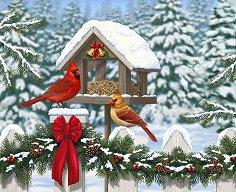 Коледна картина -