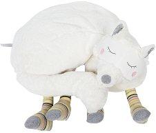 """Куче - Плюшена играчка с джоб за пижамка от серията """"Les Petits Dodos"""" -"""