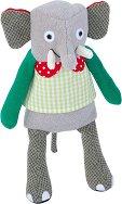 """Слонче - Плюшена играчка от серията """"Les Popipop"""" - играчка"""