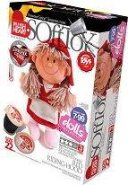 """Направи сама парцалена кукла - Червената шапчица - Творчески комплект от серията """"Soft Toy  Dolls"""" -"""