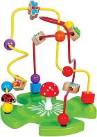 Лабиринт - Градина - Дървена образователна играчка - фигура
