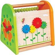 Пролет - Дървена образователна играчка -