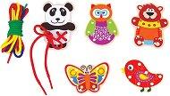 Животни - Комплект за игра от дърво - кукла