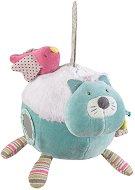 """Активна топка - Коте с пиленце - Мека играчка за бебе от серията """"Les Pachats"""" -"""