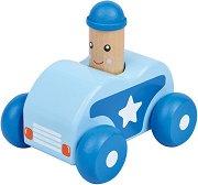 Бийп - Полицейска кола - Дървена играчка -
