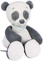 Панда - Loulou - Плюшена бебешка играчка -