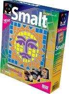 """Създай сам мозайка от шмалта - Слънце - Творчески комплект от серията """"Smalt"""" -"""