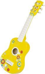 Китара - Детски музикален инструмент от дърво - играчка