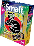 """Създай сам мозайка от шмалта - Коте - Творчески комплект от серията """"Smalt"""" -"""