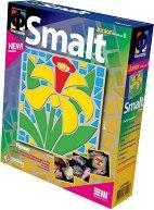 """Създай сам мозайка от шмалта - Цвете - Творчески комплект от серията """"Smalt"""" -"""