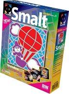 """Създай сам мозайка от шмалта - Полет с балон - Творчески комплект от серията """"Smalt"""" - творчески комплект"""