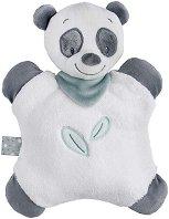 """Плюшена възглавничка - пандата Loulou - Играчка за бебе от серията """"Loulou, Lea & Hippolyte"""" - продукт"""
