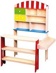Магазин - Дървен комплект за игра - играчка