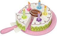 Сметанова торта - Дървен комплект за игра - играчка