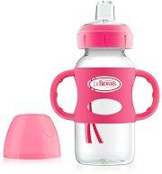 Преходна чаша с мек накрайник и дръжки - Options 270 ml - За бебета над 6 месеца - шише