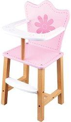 Стол за хранене на кукли - Дървена играчка -
