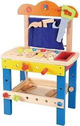 Работилница с инструменти - Дървен комплект за игра -