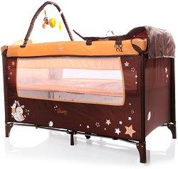 Сгъваемо бебешко легло на две нива - Sleepy New -