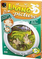 """Създай сам 3D картина с формат А5 - Утро в гората - Творчески комплект от серията """"Living 3D Picture"""" - творчески комплект"""