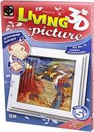 """Създай сам 3D картина с формат А5 - Каньон - Творчески комплект от серията """"Living 3D Picture"""" - творчески комплект"""