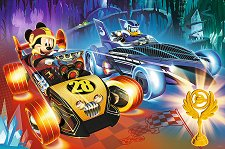 """Състезанието на Мики - Пъзел с едри елементи от колекцията """"Мики Маус"""" -"""