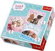 Сладки котенца - 3 пъзела -