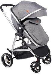 Бебешка количка 2 в 1 - Sola Set - С 4 колела -