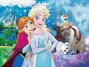 """Магията на Елза и Анна - От колекцията """"Замръзналото кралство"""" - пъзел"""