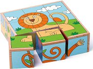 Дървени кубчета - Животни - играчка