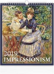 Стенен календар - Impressionism 2019 -