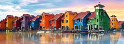 Гронинген, Нидерландия - панорама - пъзел