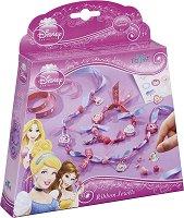 """Създай сама - Бижута от панделки - Творчески комплект от серията """"Принцесите на Дисни"""" - играчка"""